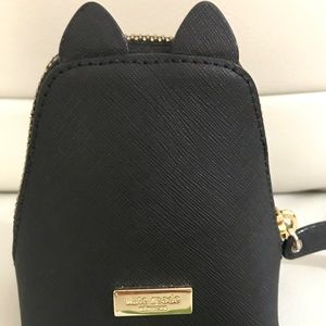 kate spade Accessories - 🎀 BNWT Kate ♠️ Spade Leather Cat Coin Purse